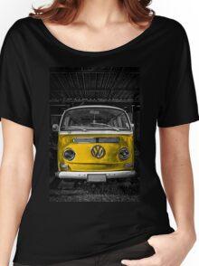 Yellow combi Volkswagen Women's Relaxed Fit T-Shirt