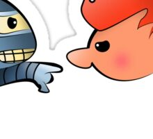 Bender & Fry Sticker