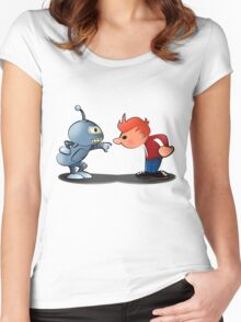 Bender & Fry Women's Fitted Scoop T-Shirt