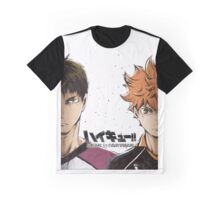 Karasuno vs Shiratorizawa Graphic T-Shirt