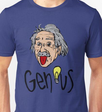 Albert Einstein bigmouth Unisex T-Shirt