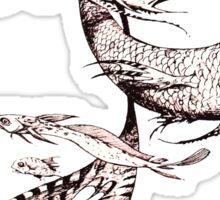 Fantasy Naga from Faeries Sticker