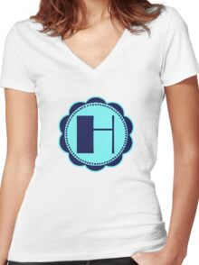 Broadway H Women's Fitted V-Neck T-Shirt