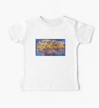 .Take The World By Storm Baby Tee