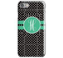 H Polks Dot iPhone Case/Skin