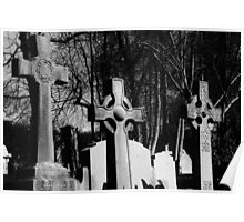 Triad of Headstones Poster