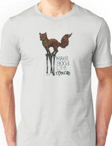 Flounce, the Fox on Stilts (Sky) Unisex T-Shirt
