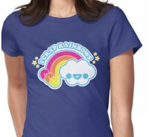 I Crap Rainbows Womens Fitted T-Shirt