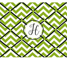 Awesome Chevron H Photographic Print
