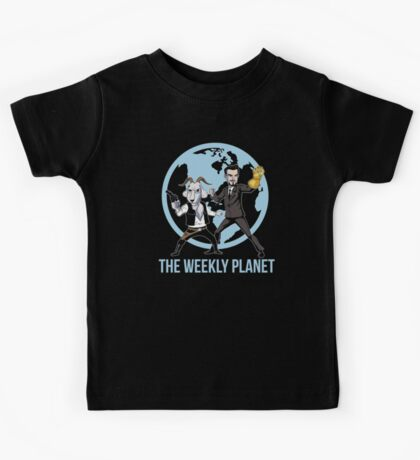 The Weekly Planet Kids Tee