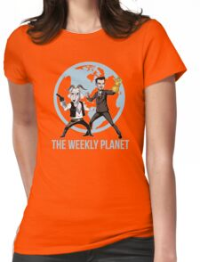 The Weekly Planet Womens Fitted T-Shirt