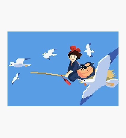 8 bit Kiki Photographic Print