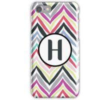 H Chevrony iPhone Case/Skin