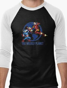 They Were Mates Then They Punch For A Bit Men's Baseball ¾ T-Shirt