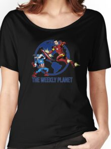 They Were Mates Then They Punch For A Bit Women's Relaxed Fit T-Shirt