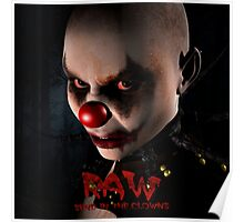 RAW-Send in the Clowns Poster