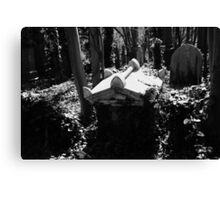 White Tomb Canvas Print