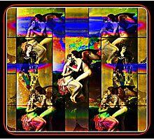 the runes of love Photographic Print