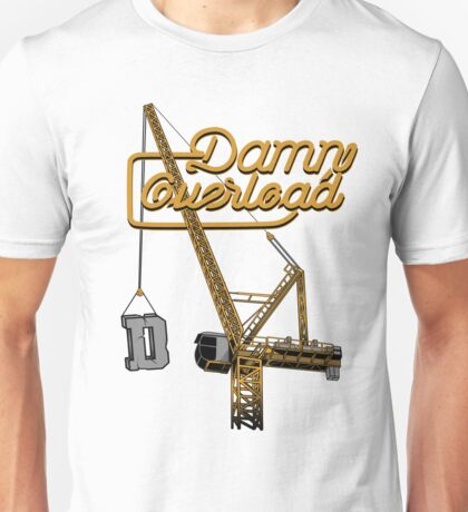 Luffing Tower Crane Unisex T-Shirt