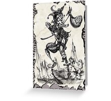 The Fool - Tarot Card Greeting Card