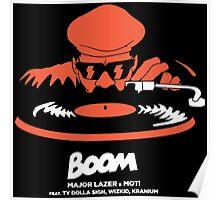 boom major lazer Poster