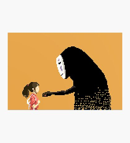 8 bit Spirited away Photographic Print