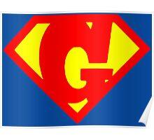 Super G Poster