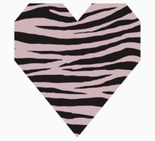 0541 Pink Tiger Kids Tee