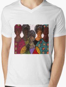 Five Alive Mens V-Neck T-Shirt