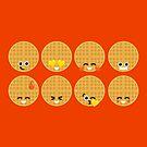 Emoji Building - Waffles by SevenHundred