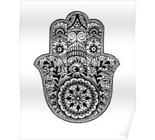 Beautiful Hamsa Hand Poster