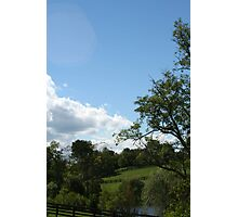 Country Views Photographic Print