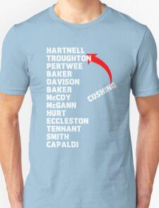 Doctor Who Actors  Unisex T-Shirt