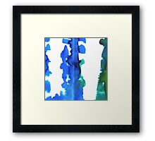 Abstract painting. Framed Print