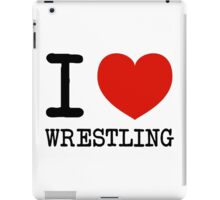 I heart Wrestling iPad Case/Skin