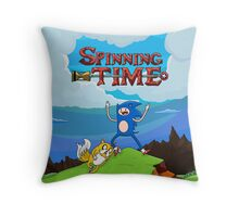 SPINNING TIME! Throw Pillow