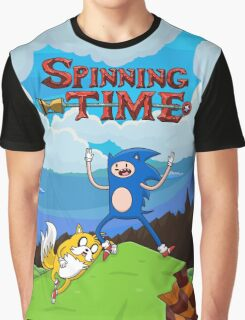 SPINNING TIME! Graphic T-Shirt