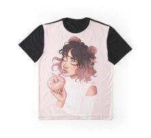 Donut Girl Graphic T-Shirt