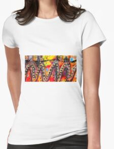 The Roller Coaster Womens Fitted T-Shirt