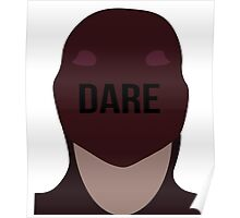 Daredevil face Poster