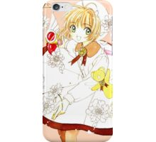 Sakura vs. White Coat iPhone Case/Skin