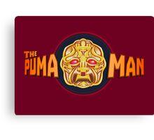 The Puma Man Canvas Print