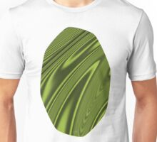 Abstract Fractal Colorways 03 Malalchite Lime Green Unisex T-Shirt