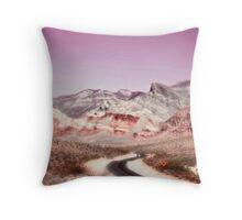 Dreamy Desert Throw Pillow