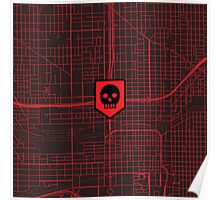 Map of the Dead Icon Poster