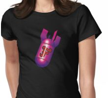 F-Bomb Girls Womens Fitted T-Shirt
