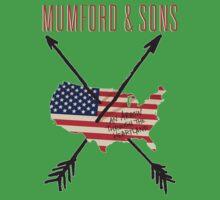 Mumford N Son One Piece - Short Sleeve