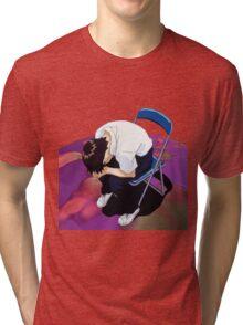 Shinji Neon genesis evangelion Tri-blend T-Shirt