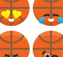 Emoji Building - Basketball Sticker