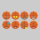 Emoji Building - Basketball by SevenHundred